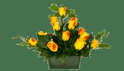 image fleurs artificielles